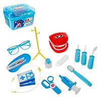 Набор стоматолога «Лечим зубки» в чемодане, МИКС