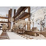 Конструктор 3D-пазл Ugears Перрон 196 деталей, фото 4