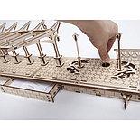 Конструктор 3D-пазл Ugears Перрон 196 деталей, фото 6