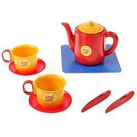 Посуда для кукол «Набор чашек с чайником», 8 элементов