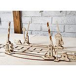 Конструктор 3D-пазл Ugears Переезд и рельсы 200 деталей, фото 3