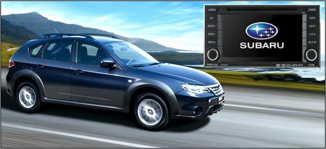 ШТАТНАЯ МАГНИТОЛА FlyAudio E7532 (Subaru Forester, Impresa)