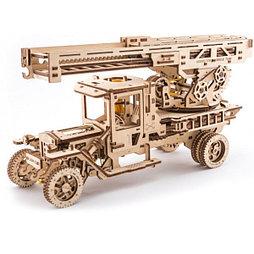 Конструктор 3D-пазл Ugears Пожарная лестница 537 деталей