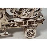 Конструктор 3D-пазл Ugears Пожарная лестница 537 деталей, фото 2