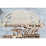 Конструктор 3D-пазл Ugears Пожарная лестница 537 деталей, фото 4