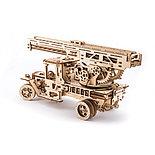Конструктор 3D-пазл Ugears Пожарная лестница 537 деталей, фото 5