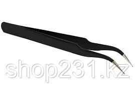 Пинцет для наращивания ресниц  TS-10 изогнутый