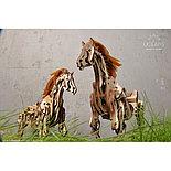 Конструктор 3D-пазл Ugears Конь Механоид 410  деталей, фото 5