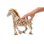 Конструктор 3D-пазл Ugears Конь Механоид 410  деталей, фото 3