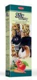 Padovan Stix country conigliett Палочки с фруктами и овощ. для декоративных кроликов, морских свинок и шиншилл