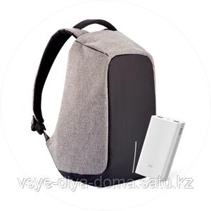 Городской рюкзак Bobby с защитой от карманников + PowerBank в подарок