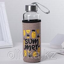 Бутылка в чехле «Ваниль», 400 мл, рисунок МИКС