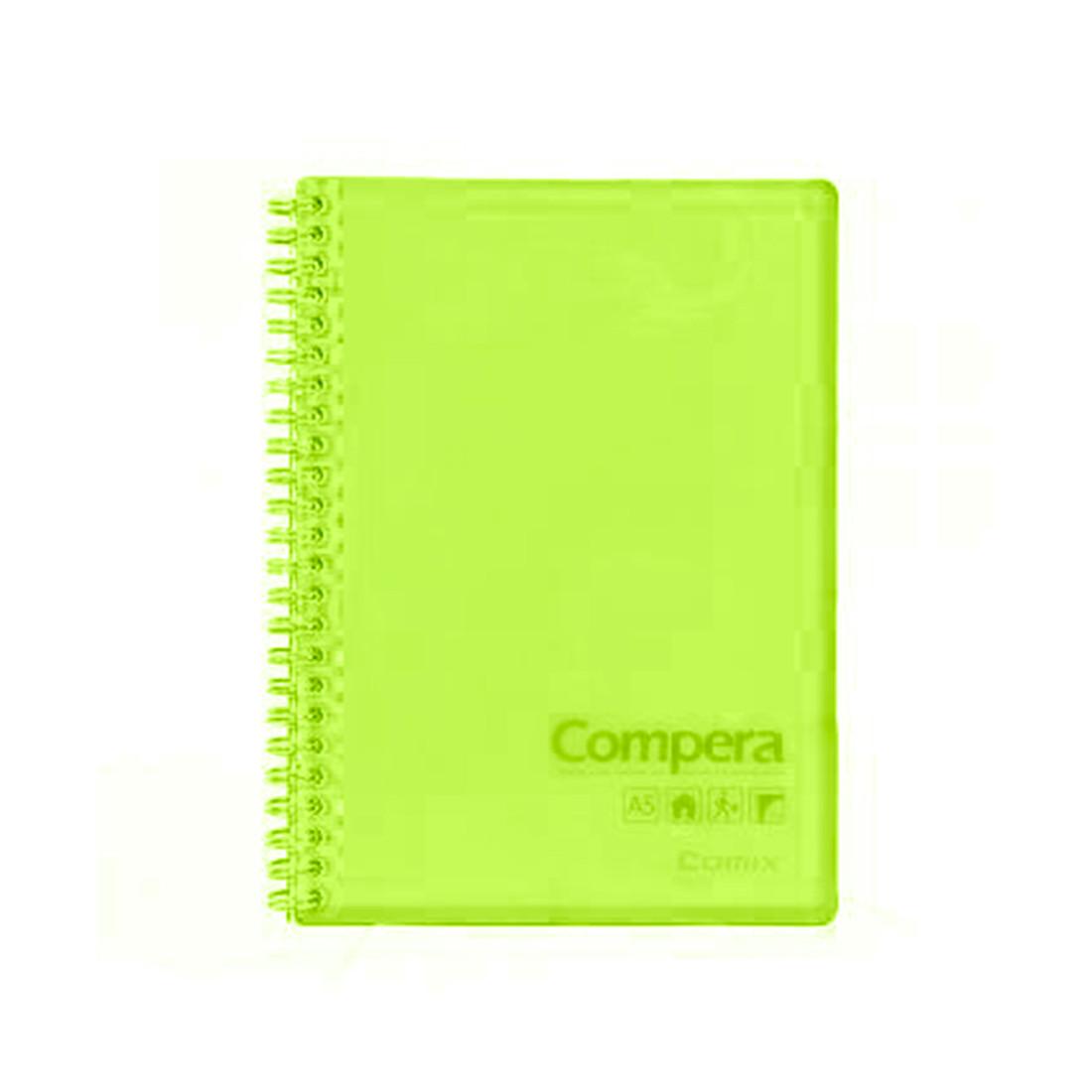 Блокнот B5 Comix CPB5801 (80 л, Зелёный)