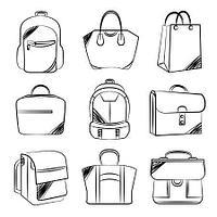 Рюкзаки, сумки, портмоне, клат...