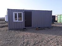Жилой контейнер 20 фут под офис со складом, фото 1