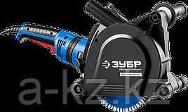 Штроборез (бороздодел), ЗУБР ЗШ-П45-2100 ПВТК, макс. глуб. 45 мм, 180 мм,  2100 Вт