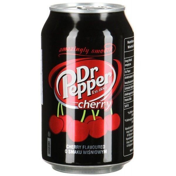 Dr.Pepper Cherry (ПОЛЬША) 330ml (24шт-упак)