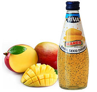 Напиток Семена базилика с ароматом Манго 290 мл (24шт-упак)