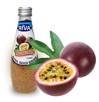 Напиток Семена базилика с ароматом  Маракуйя Passion fruit 290 мл (24шт-упак)