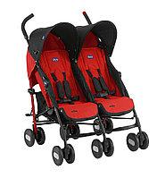 Прогулочная коляска для двойняшек Chicco Echo Twin Stroller (Garnet), фото 1