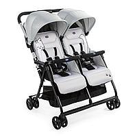 Детская коляска для близнецов Chicco Ohlala Twin Silver Cat, фото 1