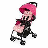 Детская прогулочная коляска Chicco Swan роз