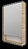 Тумба с раковиной Mira 60 см 2Д.. подвесная (2 дверки). Белый глянец, фото 6