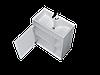 Тумба с раковиной Lido 60 см 1Д.. напольная (1 дверка). Белый глянец, фото 2