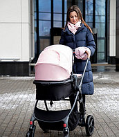 Коляска-трансформер Happy Baby LOVETTA pink
