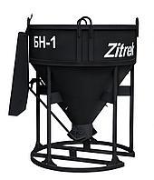 Бадья для бетона Zitrek БН-1.0 (лоток) усиленная 021-1063
