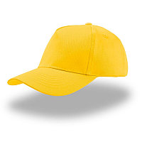 Бейсболка детская KID START FIVE, 5 клиньев, застежка на липучке, Желтый, -, 25480.03