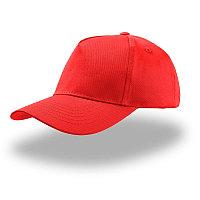 Бейсболка детская KID START FIVE, 5 клиньев, застежка на липучке, Красный, -, 25480.08