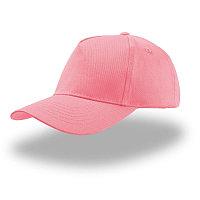 Бейсболка детская KID START FIVE, 5 клиньев, застежка на липучке, Розовый, -, 25480.10