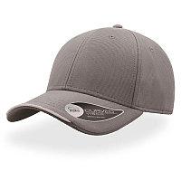 Бейсболка ESTORIL, 6 клиньев, застежка на липучке, Серый, -, 25407.29