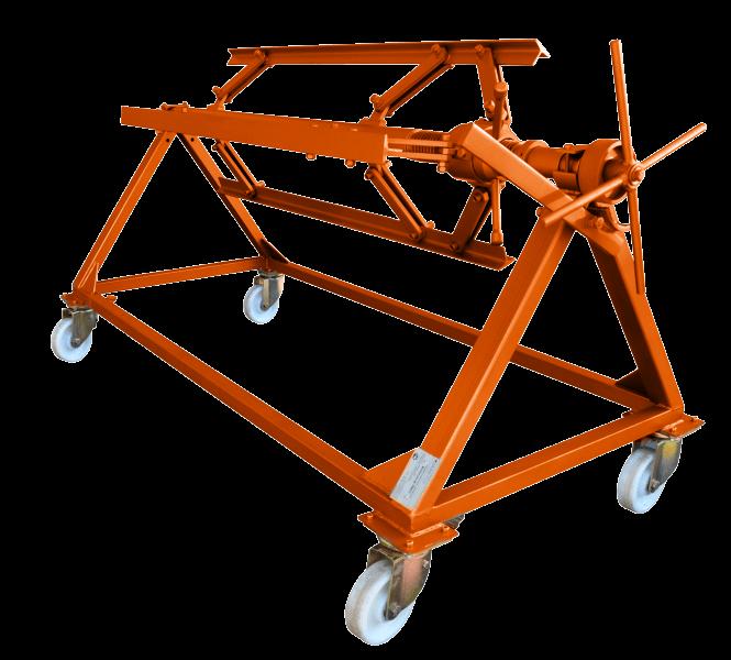 Разматыватель самоцентрирующийся рулонного металла  Stalex РМ2С-1250