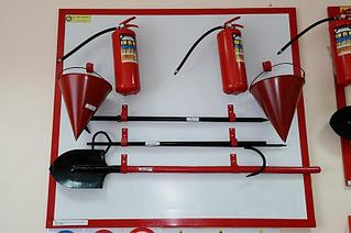 Пожарный щит в комплекте