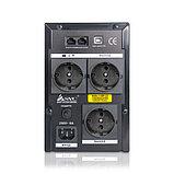 SVC V-1200-F-LCD Источник бесперебойного питания Smart, USB, Мощность 1200ВА/720Вт, фото 3
