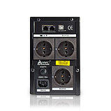 SVC V-1500-F-LCD Источник бесперебойного питания Smart, USB, Мощность 1500ВА/900Вт, фото 3