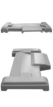 Пластиковая верхняя крышка для металлоискателей БЛОКПОСТ серии PC-Z