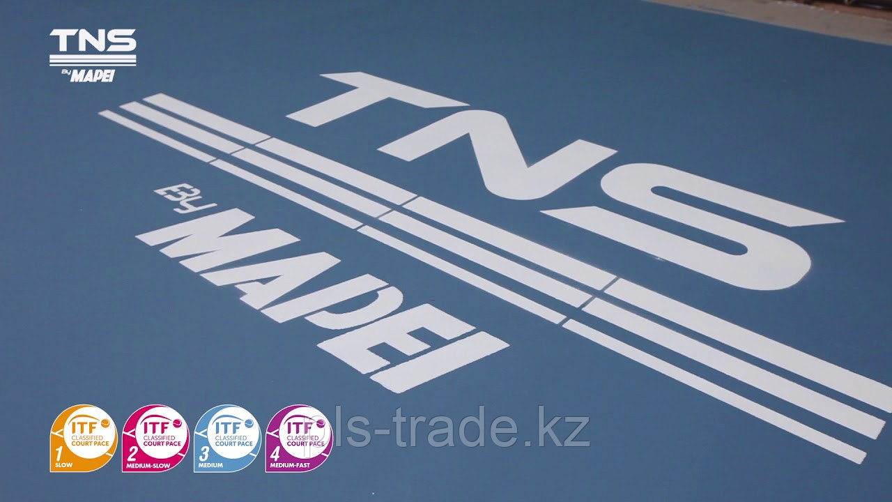 MAPECOAT TNS PROFESSIONAL для создания профессиональных теннисных кортов - фото 2