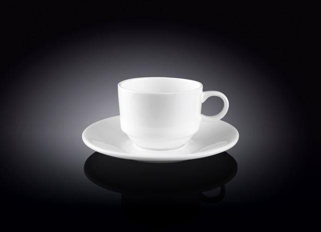 Кофейные чашки и блюдца WILMAX