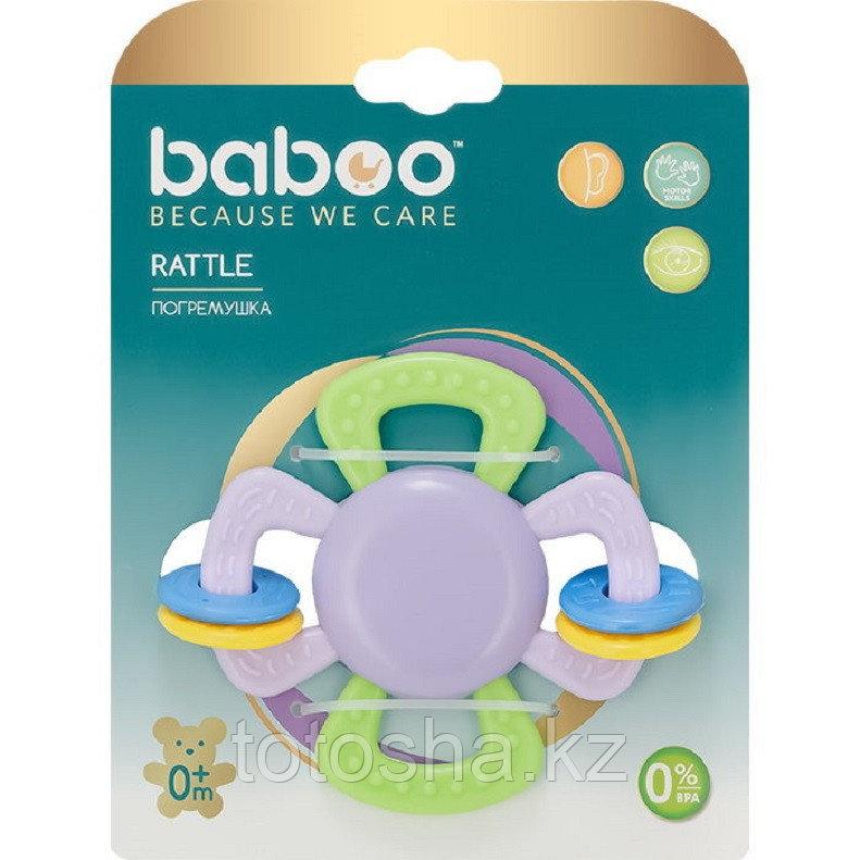 Погремушка Цветочек 0 м+ Baboo 15-001
