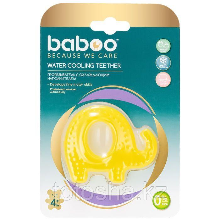 Прорезыватель для зубов Слоник охлаждающий 4 м+ Baboo 6-007