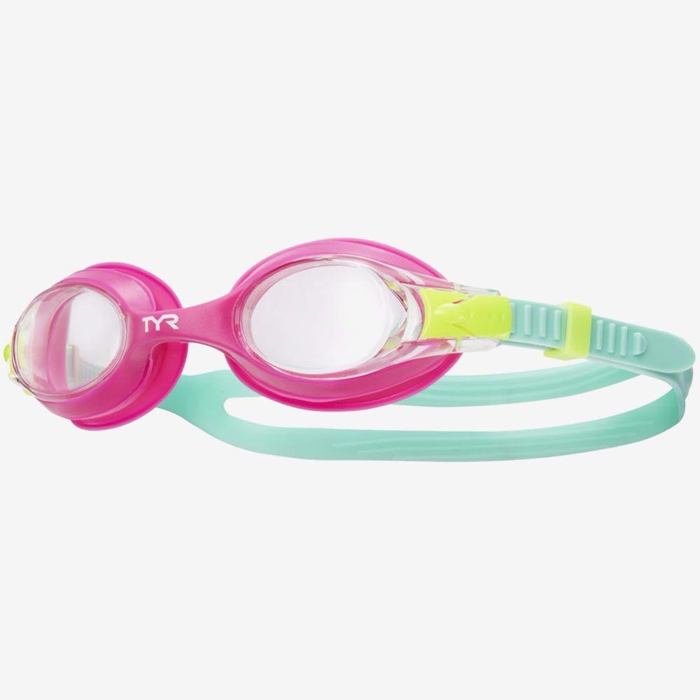 Очки для плавания детские TYR Swimple (TYR Pink)