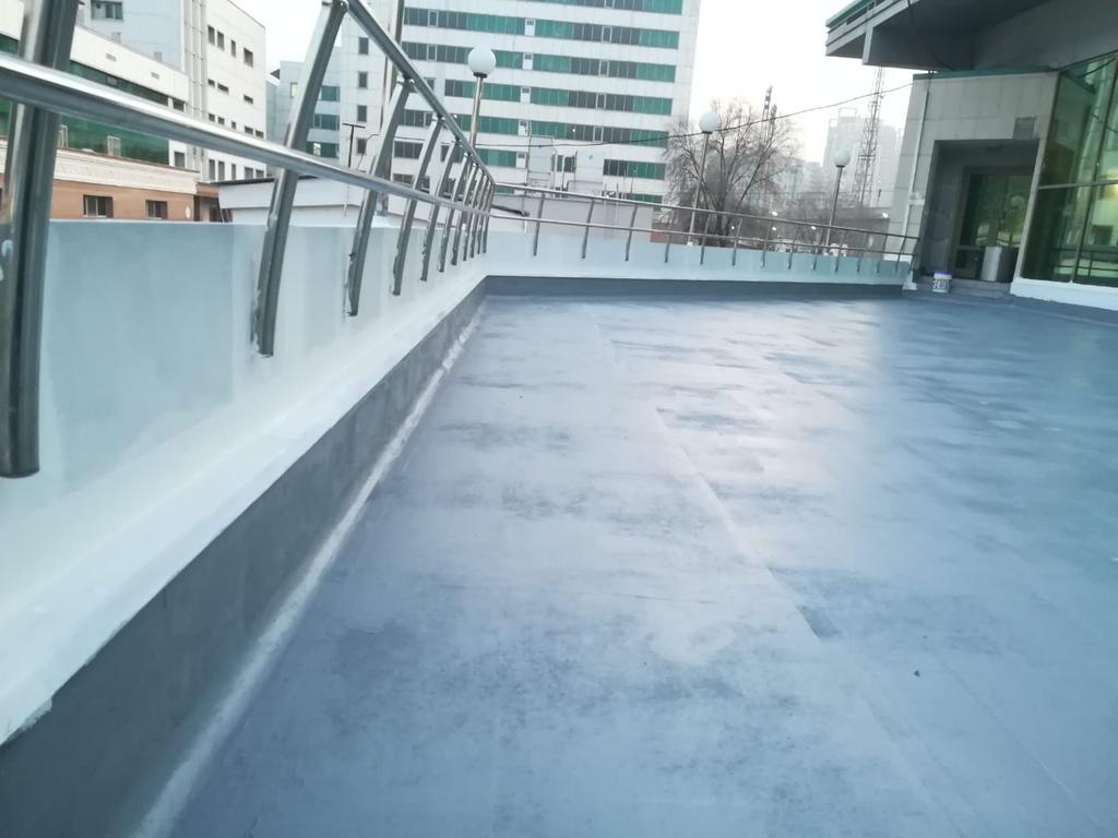 Гидроизоляция террасы ТРЦ Променад, Алматы