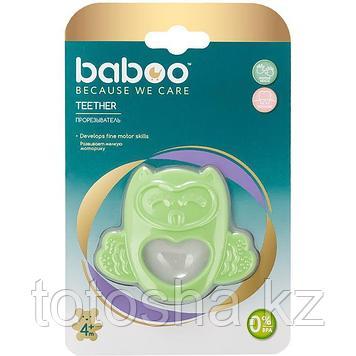 Прорезыватель для зубов Сова из силикона 4 м+ Baboo 6-009