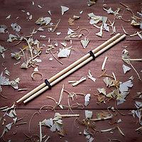 Палочки бамбуковые круглые в цветной упаковке с логотипом