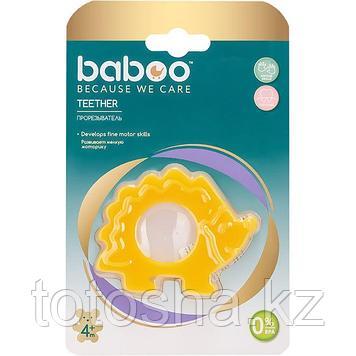Прорезыватель для зубов Ёжик из силикона 4 м+ Baboo 6-109