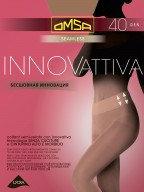 Колготки бесшовные OMSA Innovattiva 40 ден 5, nero