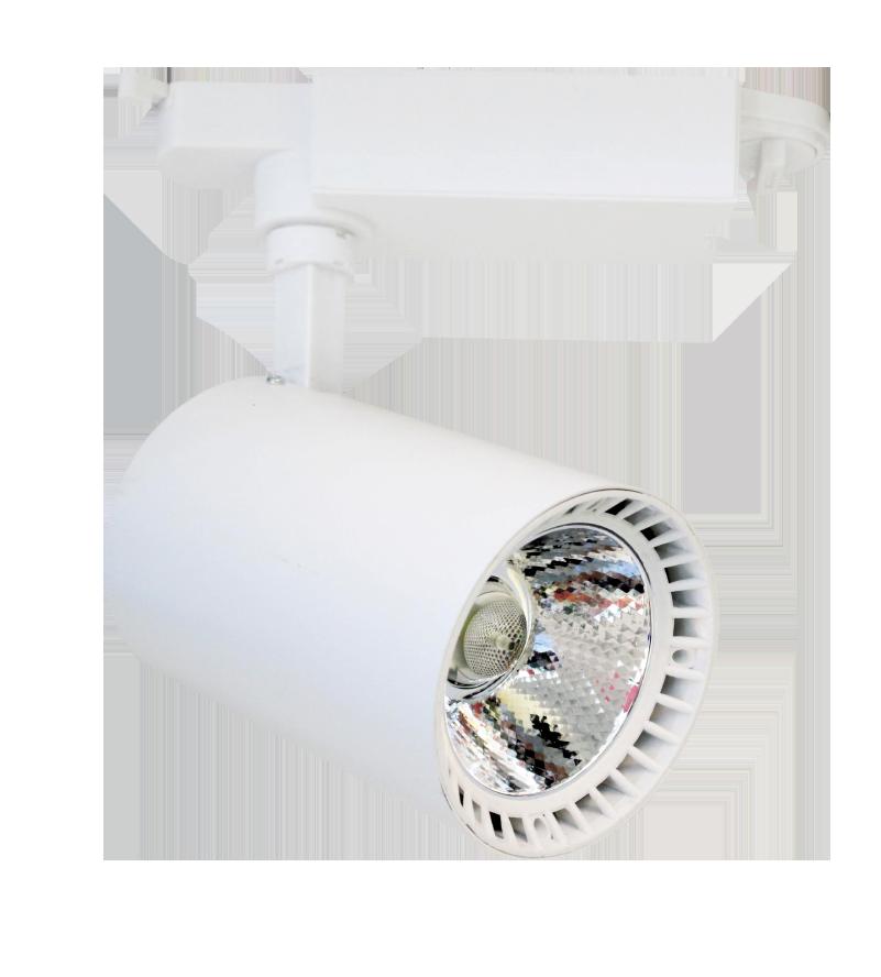 Светильник для внутреннего освещения Led белый 30W 2400Lm  d87x135 4000K IP20